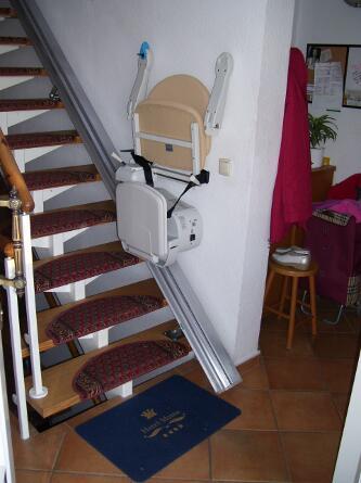 Parkstelle Treppenlift