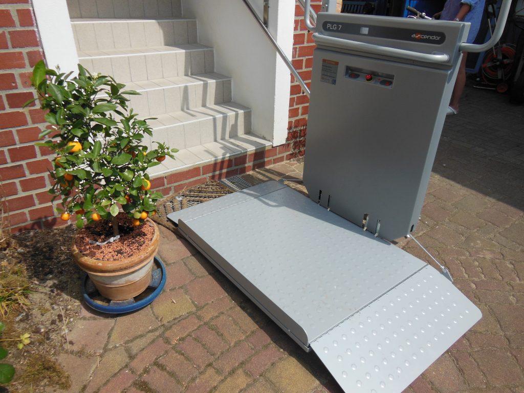 Plattform-Treppenlift für Außenbereich