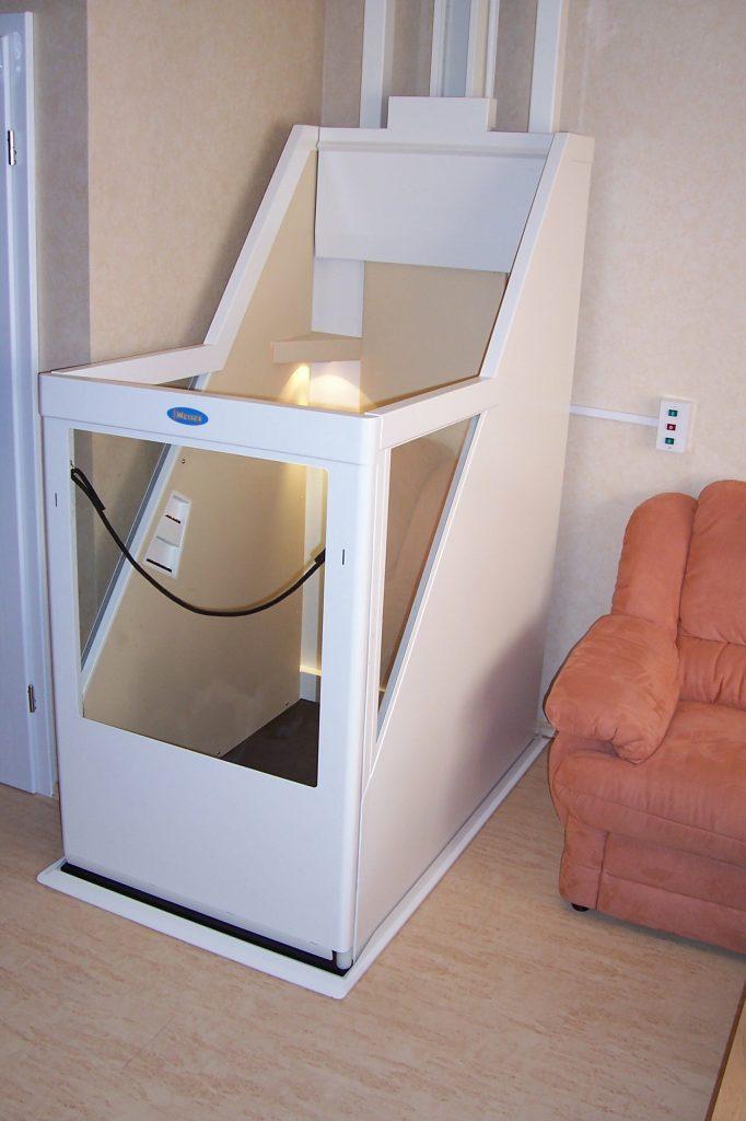 Lift in Wohnzimmer